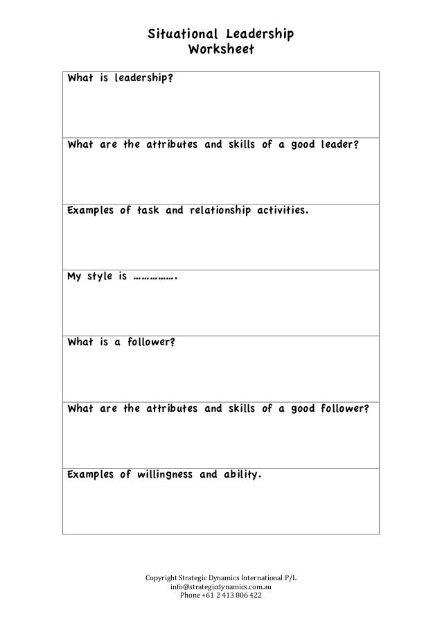 leadership and organizational change worksheet What's good reading think about it there's probably an important conversation you're not having with someone that needs to happen use this to help you find the words and courage to do it and have it be successful: having successful crucial conversations guide (and worksheet).