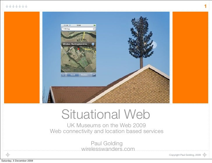 1                                     Situational Web                                  UK Museums on the Web 2009         ...