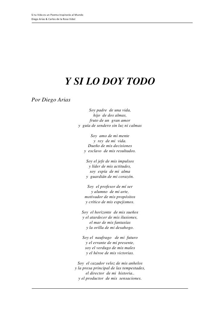 9 Poemas al maestro - Yavendrás