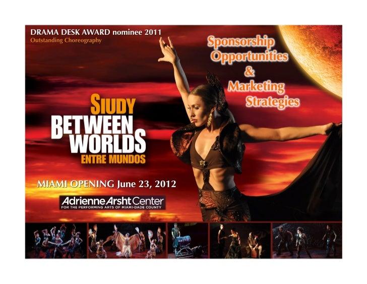 Siudy Between Worlds: Marketing Opportunity & Sponsorship Program