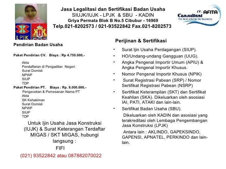 SIUJK dan SKT MIGAS 087882070022