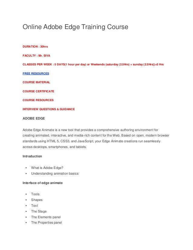 Sivasoft-Online-adobe-edge-Training-Course-in-ameerpet-hyderabad-india