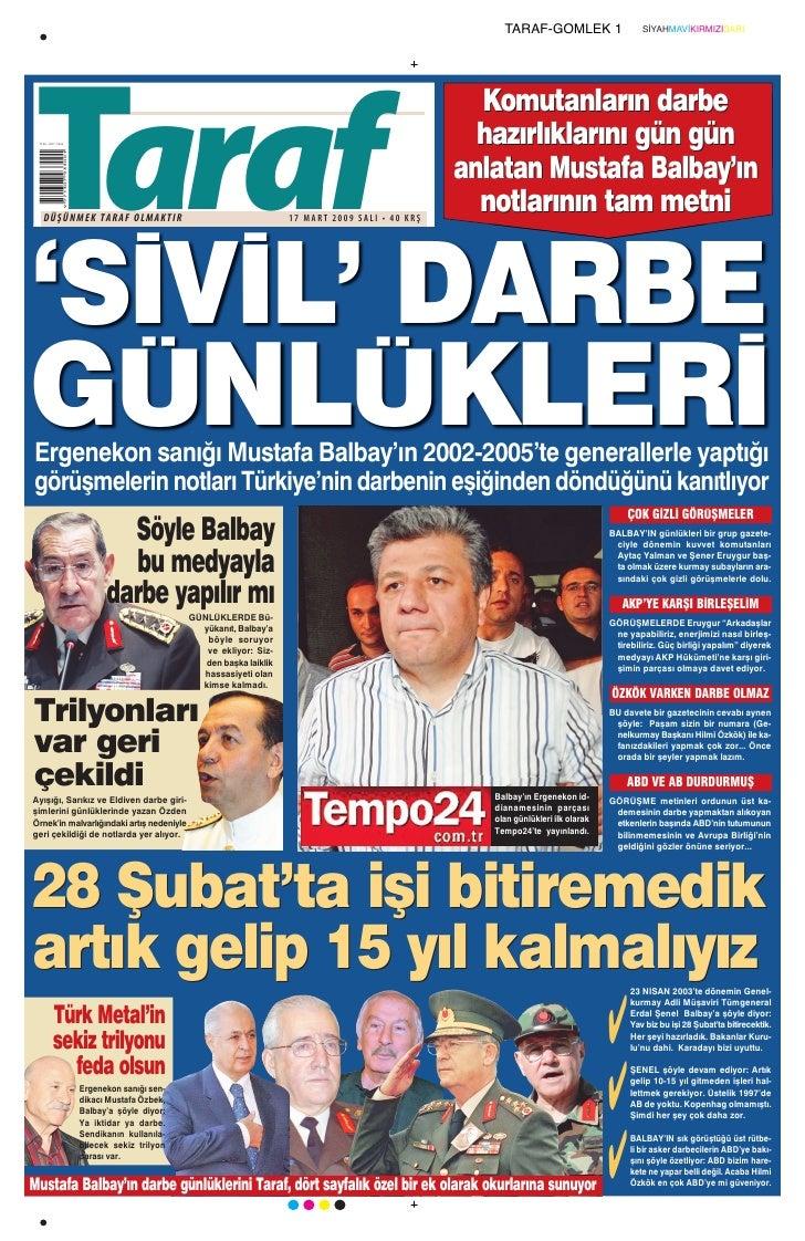 TARAF-GOMLEK 1                     SİYAHMAVİKIRMIZISARI      Taraf                                                        ...