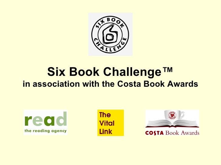 Six  Book  Challenge In  Cadwyn  Y  Canolbarth