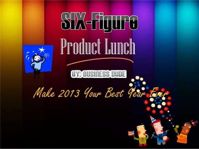 Product LunchMake 2013 Your Best Year Ever