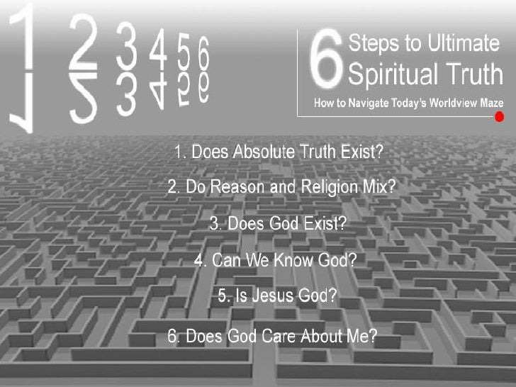 Does                          Truth        Spiritual                       Can it be                      Found?          ...