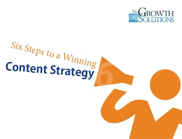 Six Steps to a Winning Content Strategy