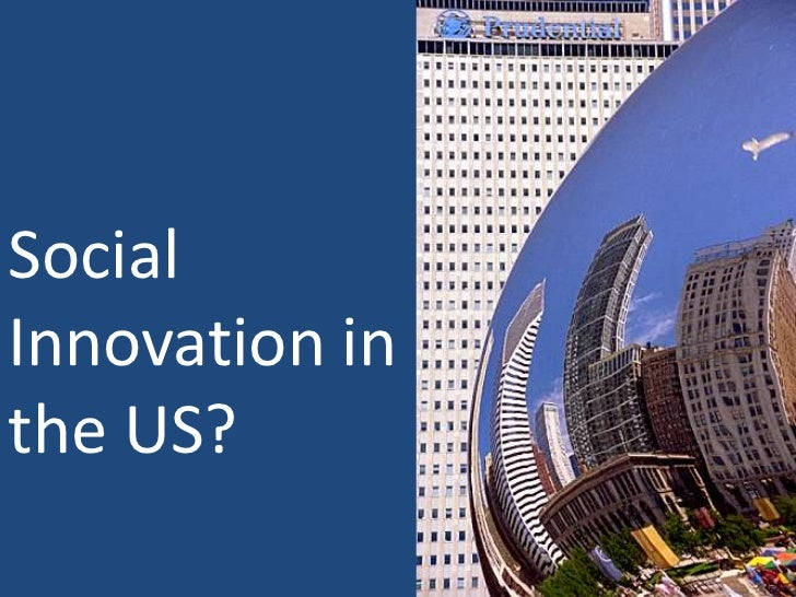 Social Innovation in the US?<br />