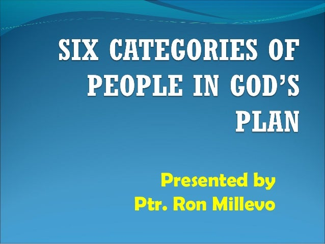 Presented by Ptr. Ron Millevo