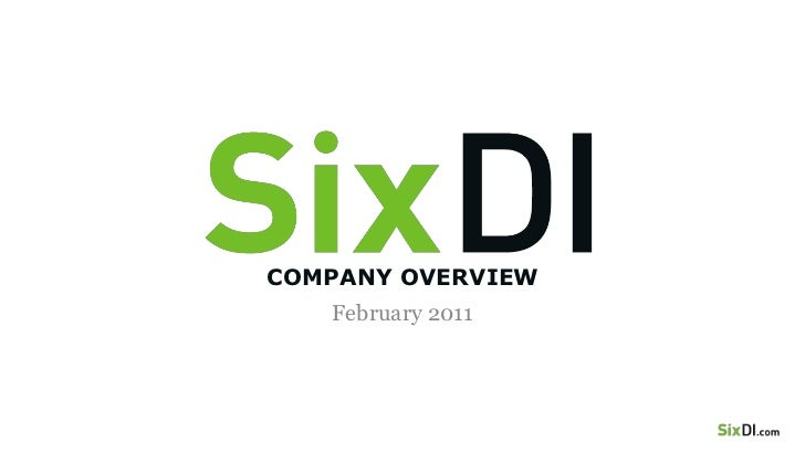 COMPANY OVERVIEW<br />February 2011<br />