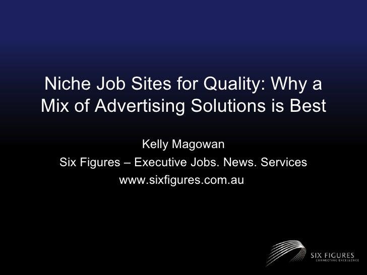 Six Figures RecruitTECH 2009 Presentation