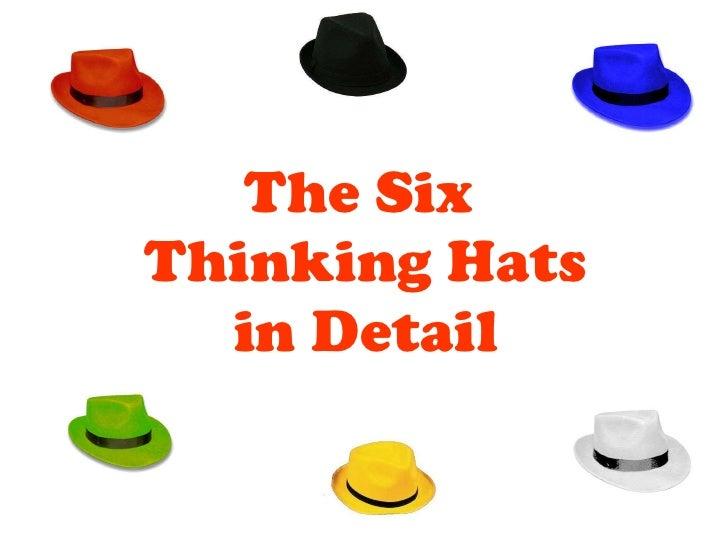 six thinking hats exercise pdf