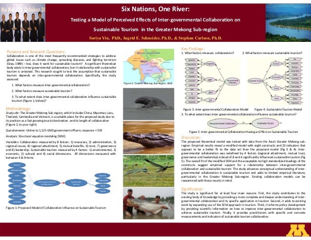 Six Nations, One River:Testing a Model of Perceived Effects of Inter governmental Collaboration onSustainable Tourism in t...