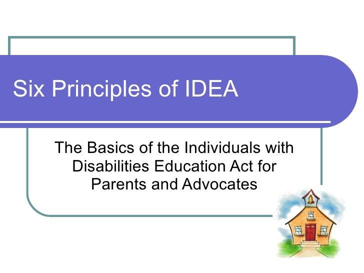 Idea guiding principles