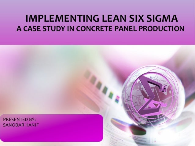 lean six sigma case studies manufacturing Lean manufacturing or lean six sigma manufacturing, as it is often called, when done well, fully integrates the benefits of two technologies lean, which was hugely.