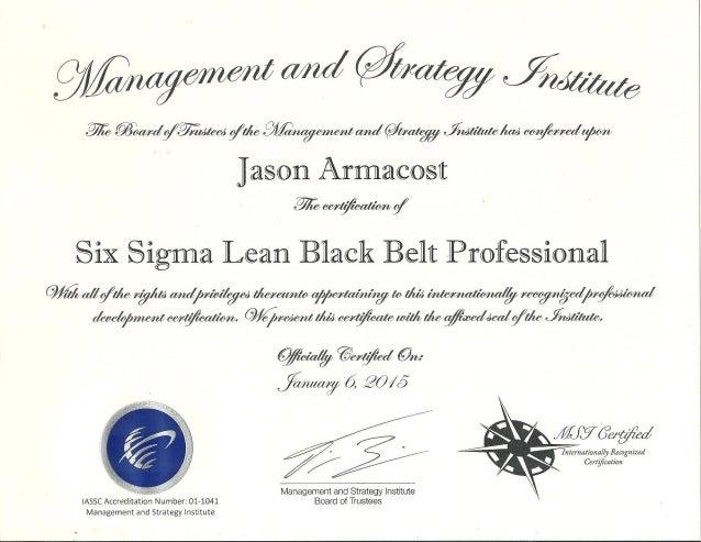 professional training certificate