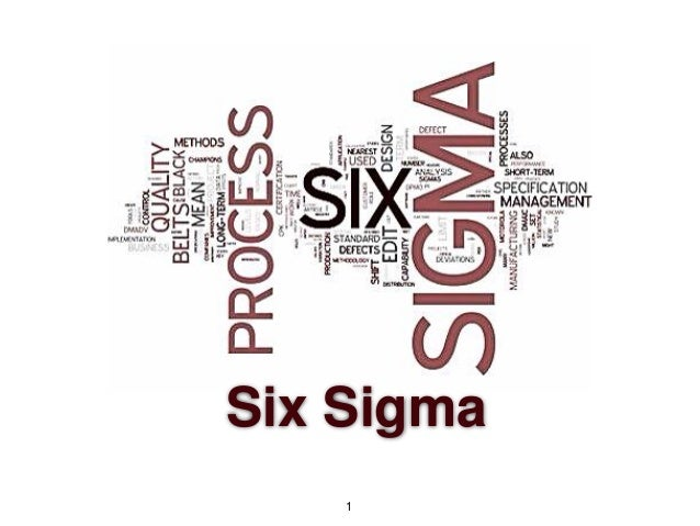 Six Sigma overview for Grad School