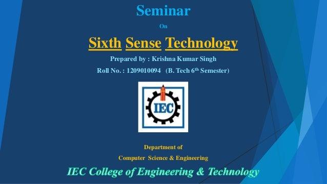 Essay on sixth sense technology