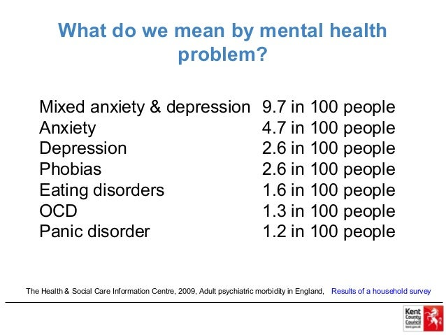 Image result for what do we mean by mental health problem? kent county council