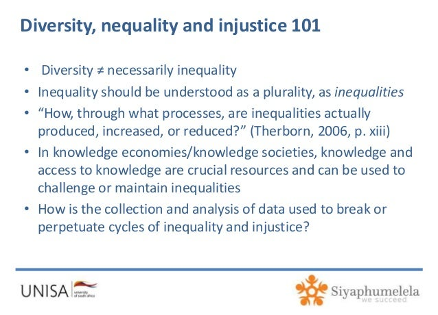 is inequality necessary Social inequality is the existence of unequal opportunities and rewards for different social positions or statuses within a group or society let's.