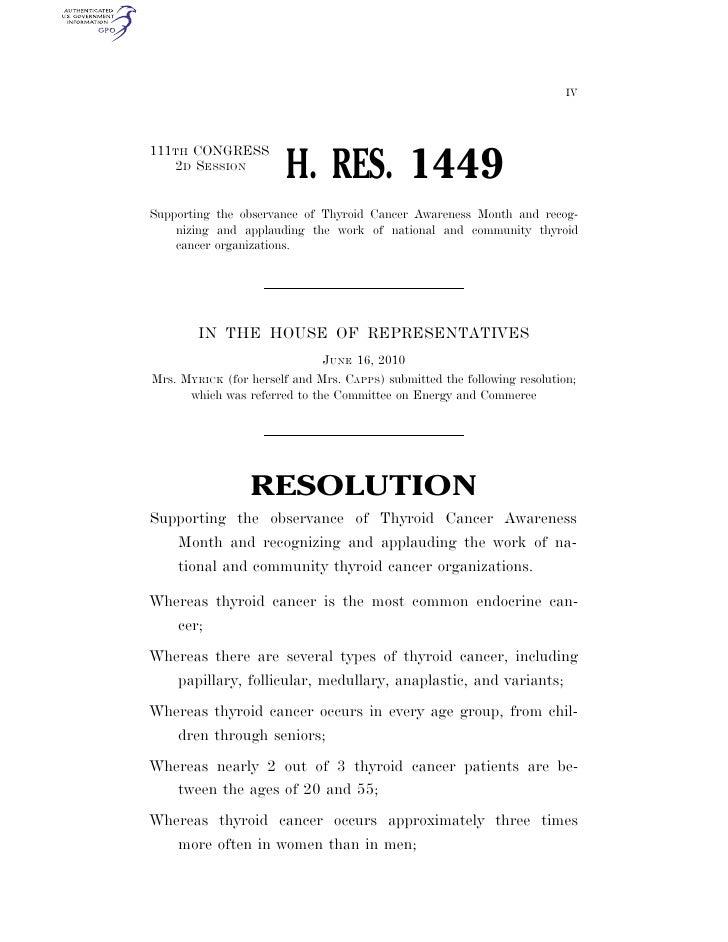 USA GOV RESOLUTION 1449