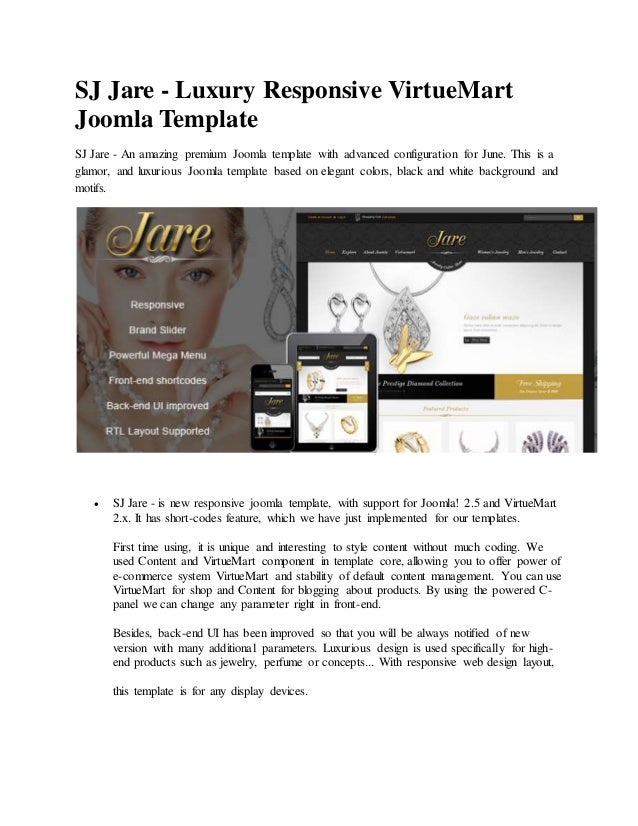 Joomla Luxury Templates Joomla Template Luxurious