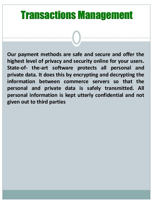 Online Gambling security?