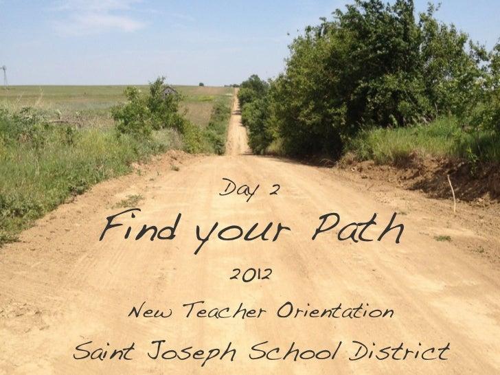 SJSD New Teacher Orientation Day 2 2012