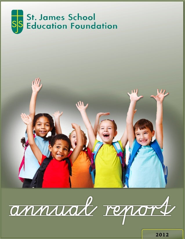 Sjsef annual report 2012