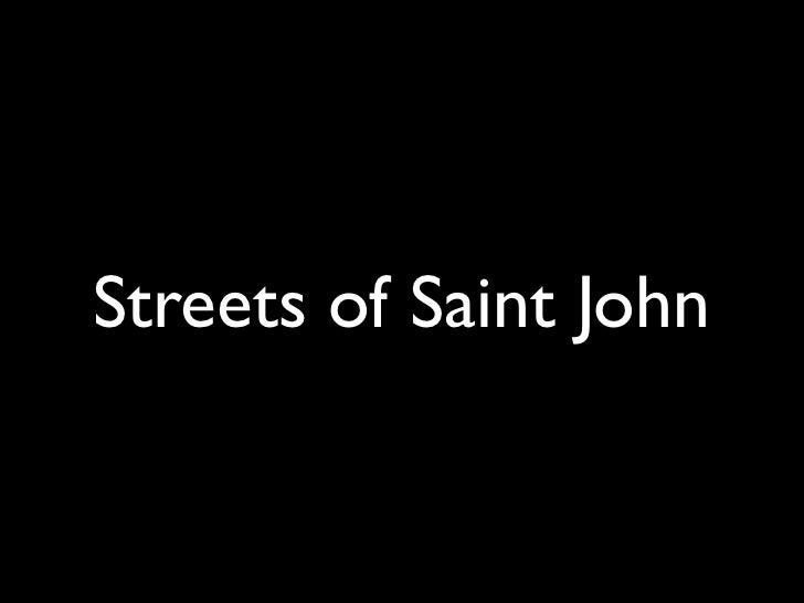 Sj Streets