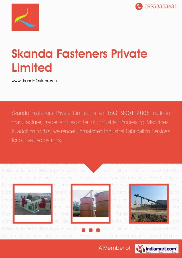 Skanda Fasteners Private Limited