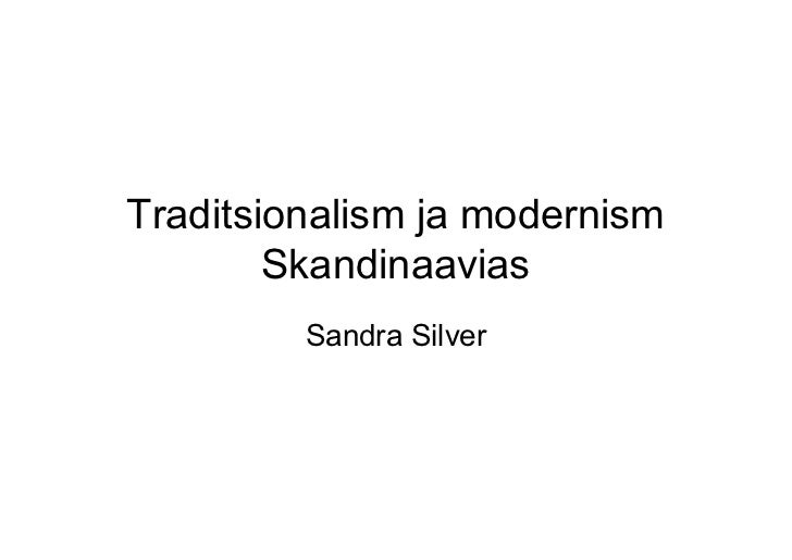 Skandinaavia modernism