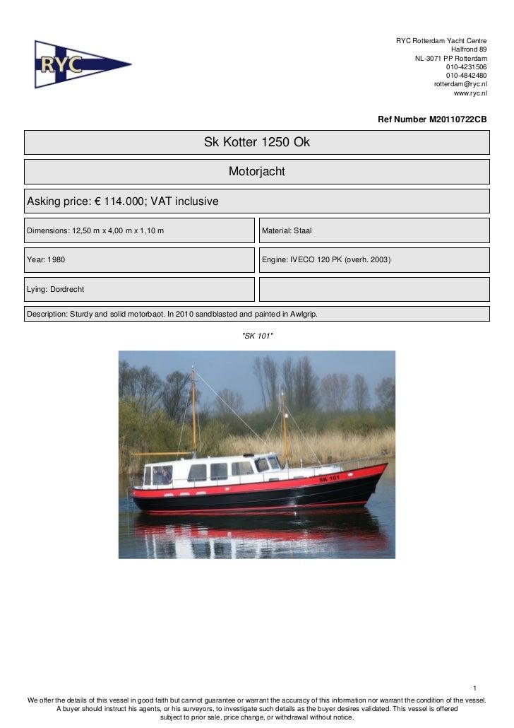 Sk motorboat.cuttertype open cockpit. FOR SALE