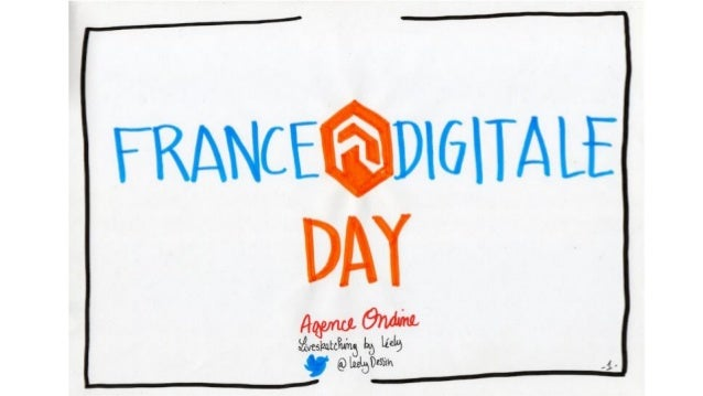 Sketch Board du France Digitale Day