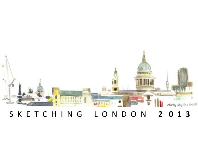 Sketching London 2013 #zeitgeist2013