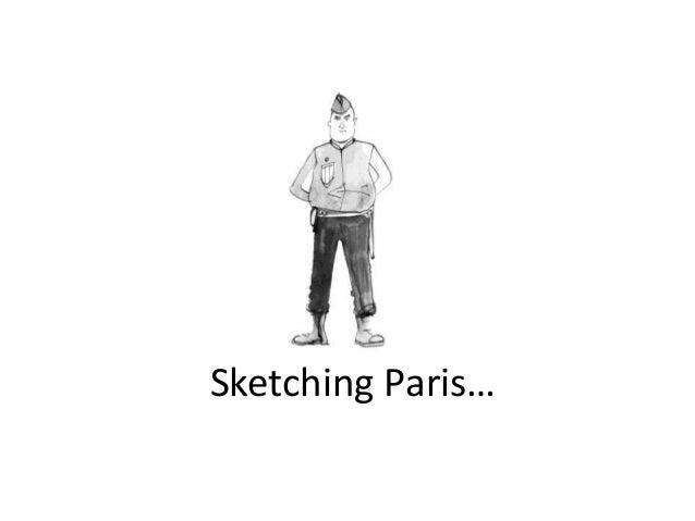 Sketching Paris…