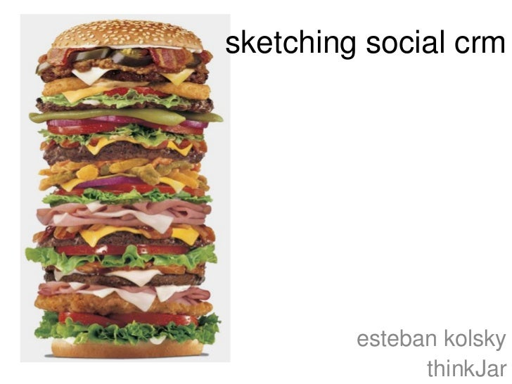 Sketching Social CRM