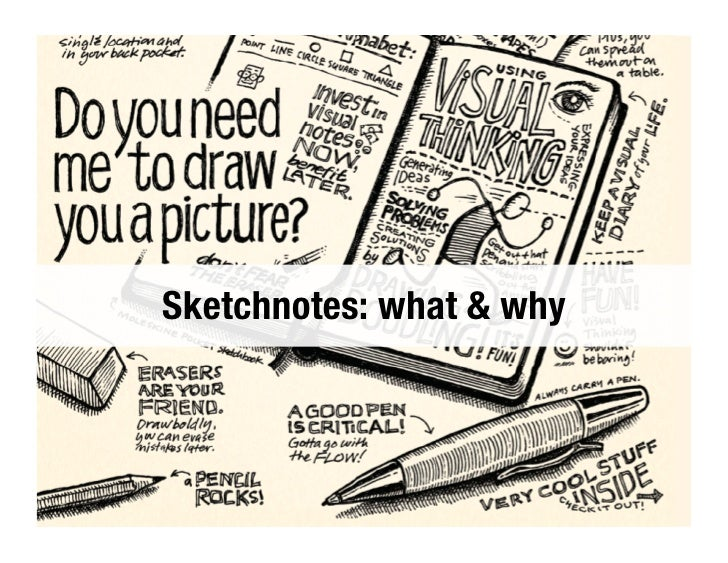 Sketchnotes: what & why