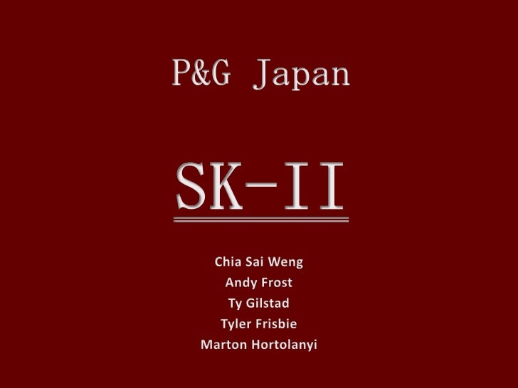 p&g japan the sk-ii globalization project case study Brief analysis of harvard business school case: corning incorporated a network of alliances (8/12/1992.