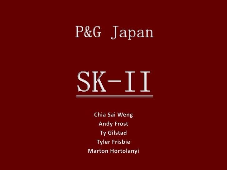 Sk II - International Marketing
