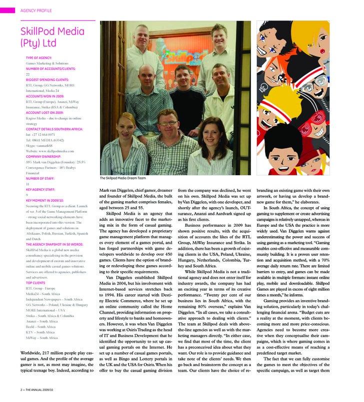 SkillPod Media Company Profile
