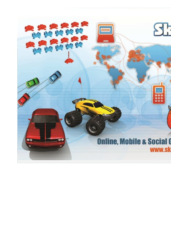 About SkillPod Media•   SkillPod Media's primary focus is the provision of world class online and    mobile casual games p...