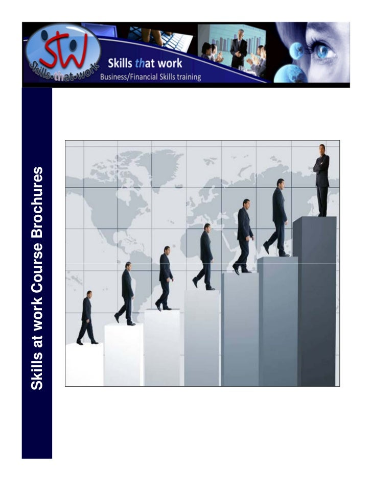 Skills at work Course Brochures