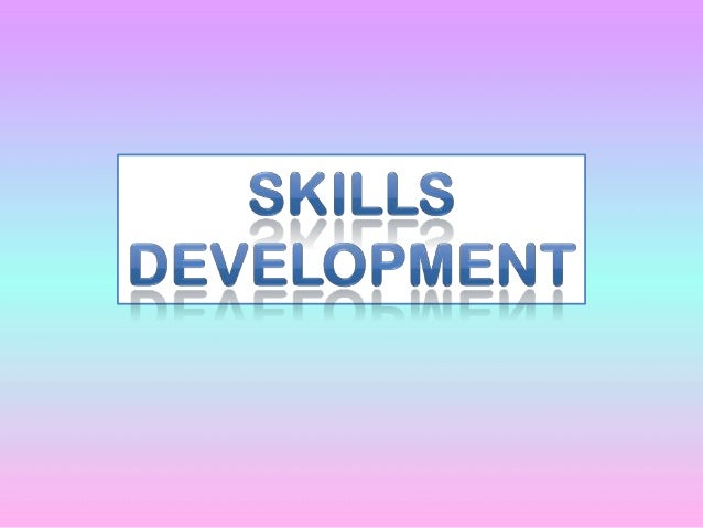 Skills development for School Personnel