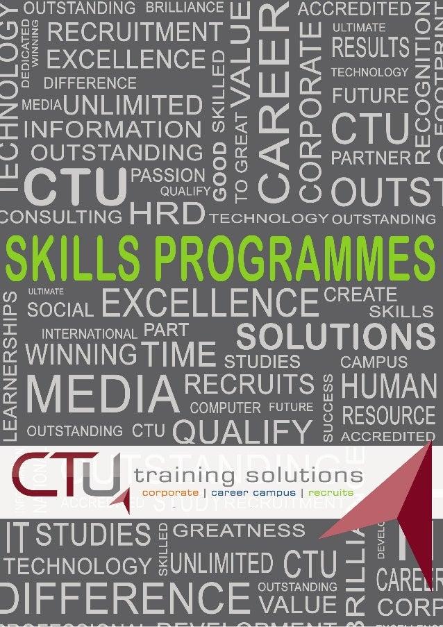 Skills Development Prospectus 2014