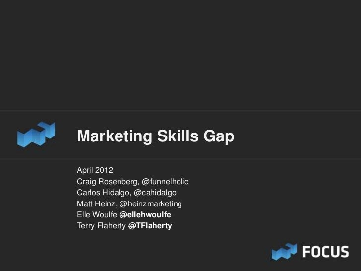 Marketing Skills Gap Research Study