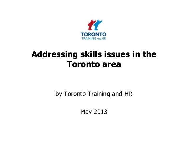 Skills May 2013
