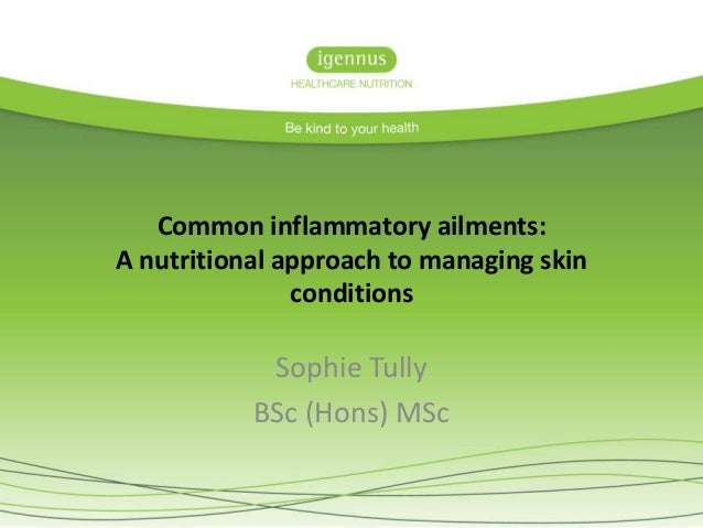 A nutritional approach to managing skin conditions