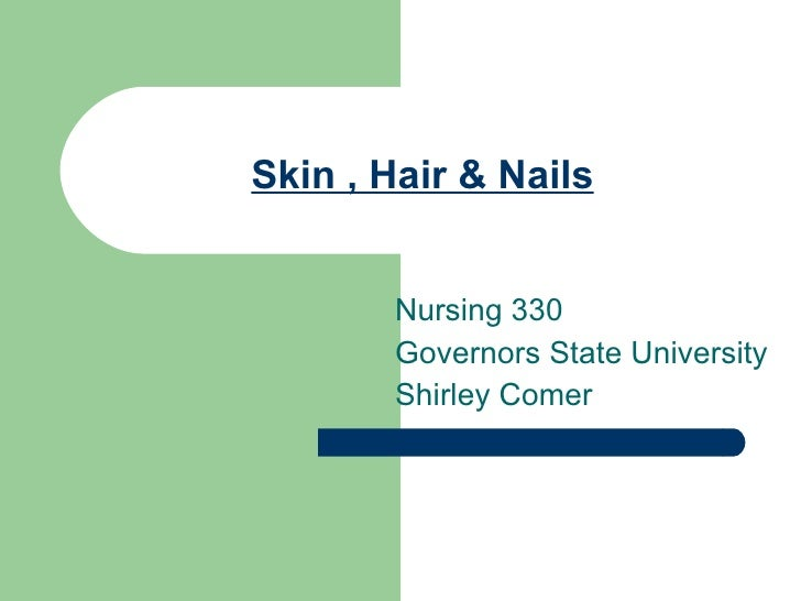 Skin , Hair & Nails, 330.Gsu.F.09