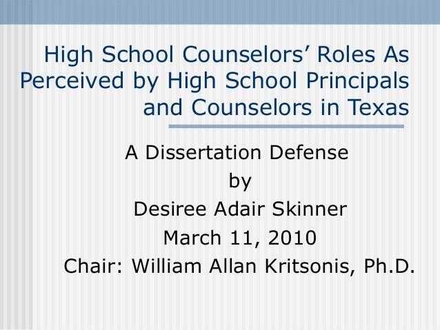 Dr. William Allan Kritsonis, Dissertation Chair for Desiree Adair Skinner, Dissertation Defense PPT.